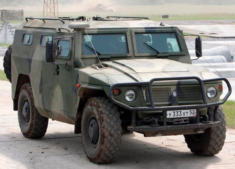 LIGHT ARMORED VEHICLES